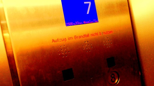 In einem Fahrstuhl in Thüringen ist am Donnerstag ein weißes Pulver gefunden worden. (Symbolbild)