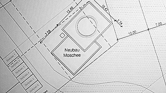 Pläne für das Gebäude: Die muslimische Ahmadiyya-Gemeinde hat eine Genehmigung für den Bau einer Moschee in Erfurt erhalten. (Archivfoto)