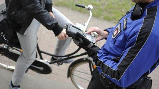 In Erfurt werden am Donnerstag viele Radfahrer kontrolliert. (Symbolfoto)