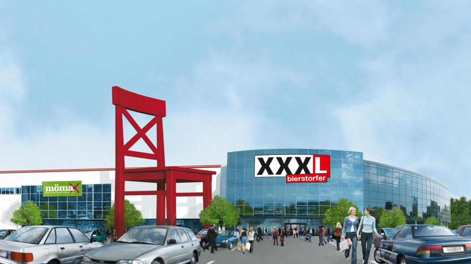 Möbelhändler Xxxlutz Baut Neues Verteilzentrum Am Erfurter Kreuz Th 24