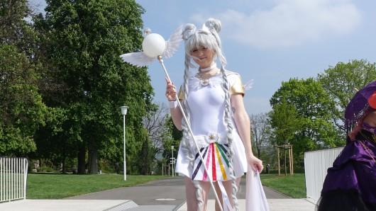Hunderte Fans der japanischen Zeichenkunst zog es am Samstag (06.05.2017) nach Erfurt zum ersten Comic- und Mangapark.