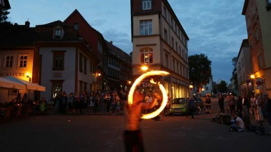 Zur Langen Nacht der Museen herrscht in Thüringen – wie hier in Erfurt – eine besondere Stimmung.