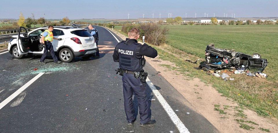 Bei einem Auffahrunfall in Erfurt ist am Samstag (20.10.2018) ein 85 Jahre alter Mann tödlich verletzt worden.