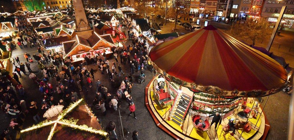 Erfurt hat sich mit dem Weihnachtsmarkt bei den European Best Christmas Markets beworben.