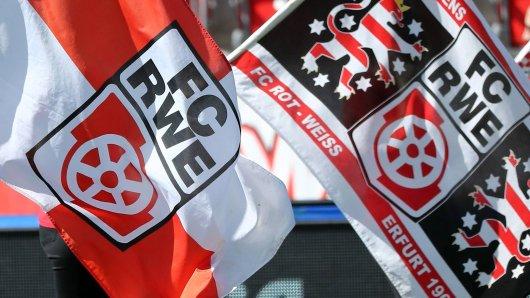 Rot-Weiß Erfurt geht 2019 neue Wehe bei der Finanzierung der ersten Mannschaft. (Archivfoto)
