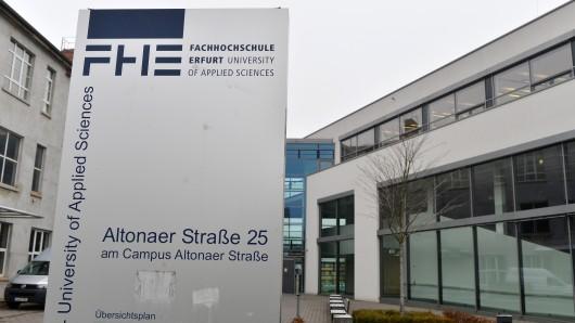 Die Kanzlerin der Fachhochschule (FH) Erfurt muss gehen. (Archivfoto)
