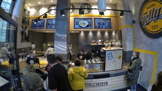 Am Anger 81 in Erfurt eröffnet ein neues Restaurant von Tellys TST. So wie hier in Bremen könnte es aussehen.