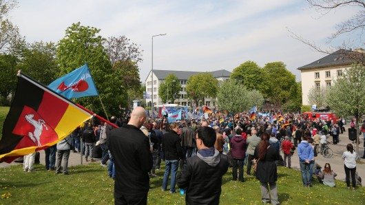 AfD-Demo am 1. Mai 2017 in Erfurt