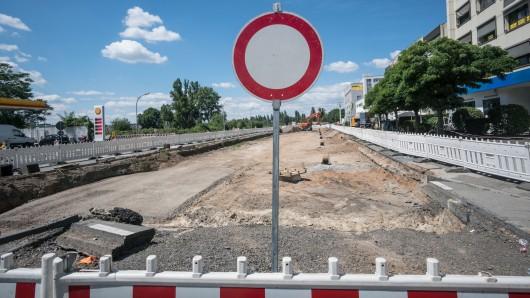 In Erfurt wird ab Montag eine wichtige Straße wegen Bauarbeiten gesperrt. (Symbolbild)