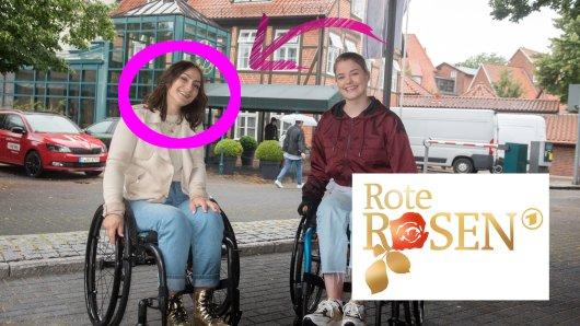 """Kristina Vogel aus Erfurt spielt bei """"Rote Rosen"""" sich selbst."""