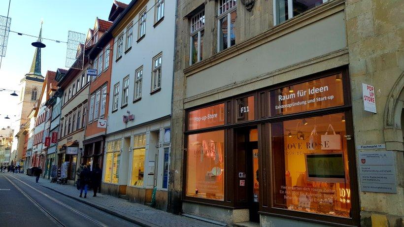 Erfurt: Einzigartiger Laden! Er macht mehrfach im Monat dicht