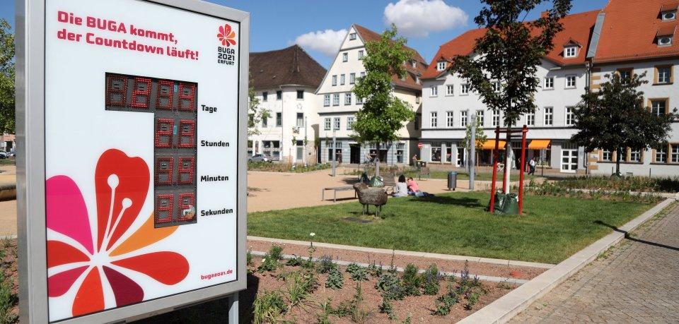 In etwas mehr als einem Monat soll die Buga in Erfurt starten. Doch im Vorfeld gibt es Ärger! (Symbolbild)