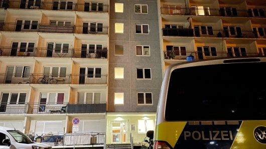 Anwohner sollen Schüsse gehört haben mitten in Erfurt.