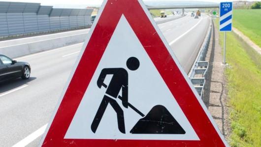 Wegen Bauarbeiten wird die A4 bei Gera in Thüringen gesperrt.