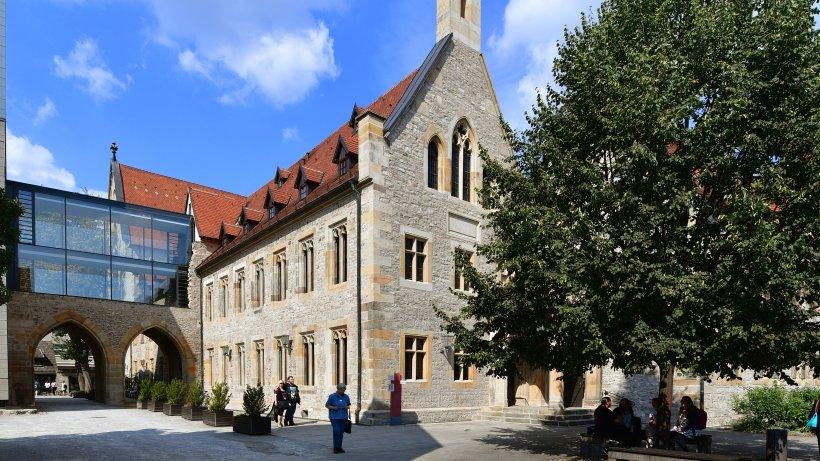 augustinerkloster in erfurt pr gungsst tte luthers th 24. Black Bedroom Furniture Sets. Home Design Ideas
