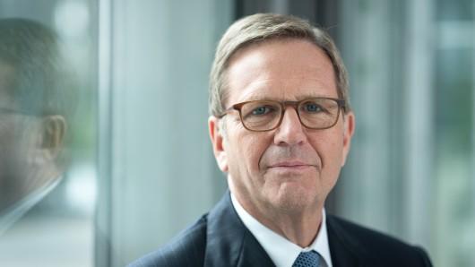 VW-Vorstand Jochem Heizmann geht bald in Rente. (Archivbild)