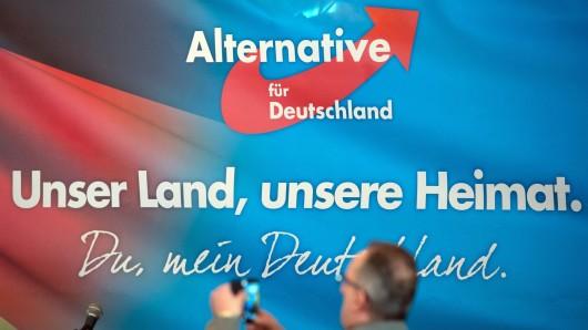 Die AfD in Thüringen war mit der Entscheidung eines der Ortsverbände nicht einverstanden. (Symbolbild)
