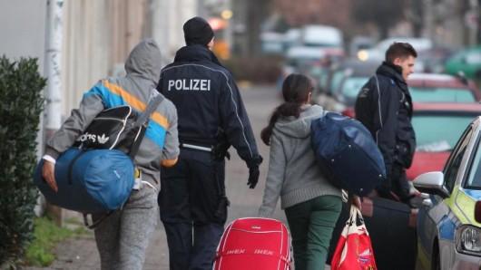 Abgelehnte Asylbewerber bleiben oftmals in Thüringen. (Symbolfoto)