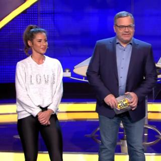 """""""Schlag den Star"""" bei Pro Sieben: Sarah Lombardi kämpft gegen Eko Fresh."""