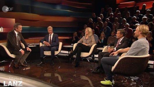 Ungewöhnliches Bild bei Markus Lanz: Geschlagene 15 Minuten hängen die Gäste an den Lippen des Extremsportler Benedikt Böhm.