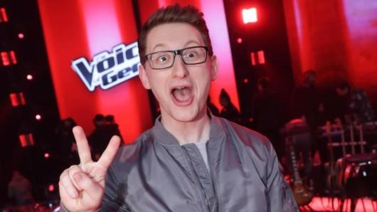 Der Sieger der Castingshow Voice of Germany, Samuel Rösch. Er kommt mit der Voice-Tour nach Erfurt.