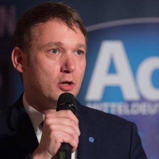 Andre Poggenburg will mit seiner neuen Partei AdP bei der Landtagswahl in Thüringen antreten.