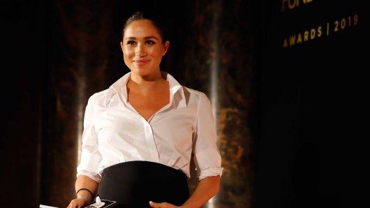 Meghan Markle wurde in London zur Königin gekrönt.