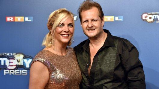 Danni Büchner und ihr geliebter Mann Jens Büchner.