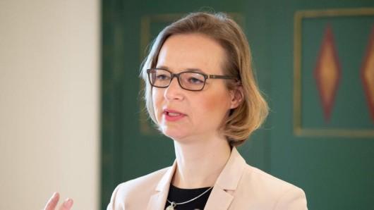 Katja Wolf (Die Linke), Oberbürgermeisterin von Eisenach.