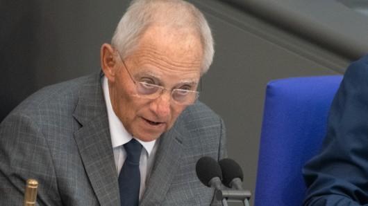 Deutliche Worte hatte Wolfgang Schäuble (CDU) nach dem Mord an Walter Lübcke. Die AfD hatte dafür wenig übrig.