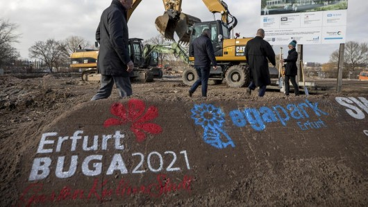 2021 kommt die Bundesgartenschau nach Erfurt. Nicht bei jedem löst das Freude aus.