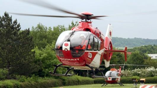 Ein Rettungshubschrauber war in Goslar im Einsatz.