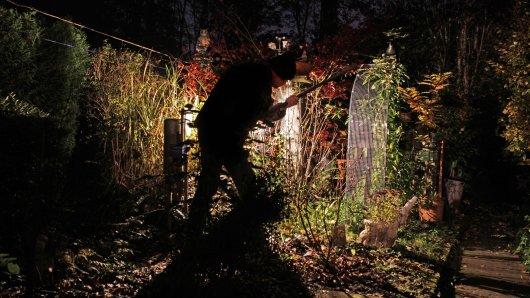 Ein Dieb trieb in einem Garten in Thüringen sein Unwesen und machte untypische Beute. (Symbolbild)