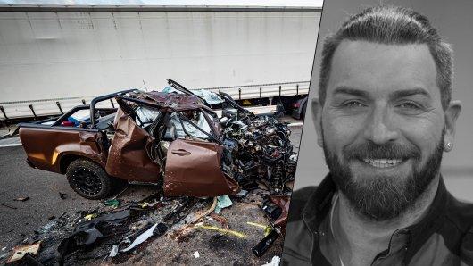 Ingo Kantorek und seine Frau verstarben Freitagnacht bei einem schlimmen Unfall auf der A8.