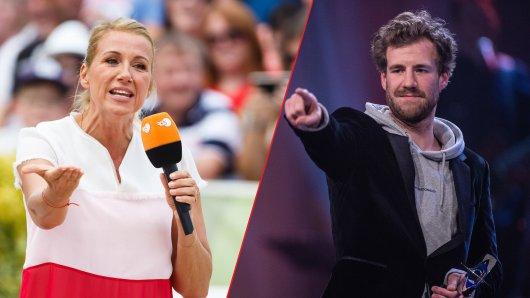 """Luke Mockridge kassierte nach seinem Auftritt im """"Fernsehgarten"""" eine mächtige Ansage von ZDF-Moderatorin Andrea Kiewel."""