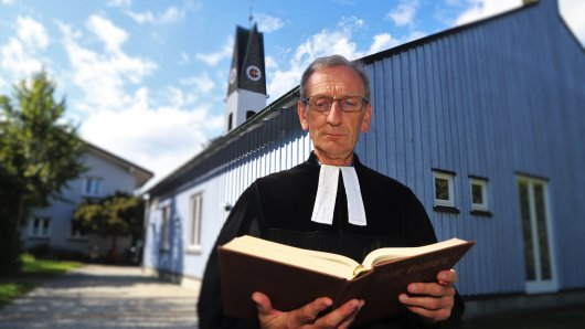 Pfarrer Ulrich Gampert aus Bayern wurde wegen der Aufnahme eines Flüchtlings verurteilt.