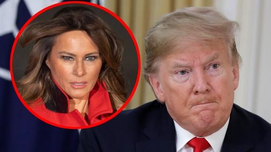 Melania Trump ist die dritte Ehefrau von Donald Trump