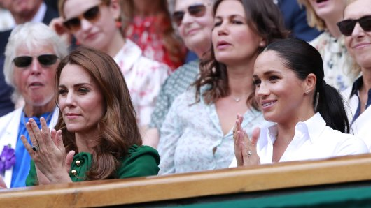Kate Middleton und Meghan Markle.