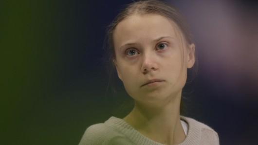 Greta Thunberg sorgte mit einem Foto aus einem ICE für Aufsehen.