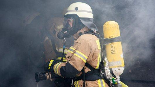 Die Feuerwehr konnte den Brand in dem Kindergarten löschen. (Symbolbild)