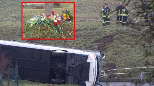 Bei einem Schulbusunglück in Thüringen starben zwei Kinder.
