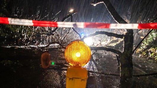 """Sturm """"Sabine"""" hat in Thüringen für einige Turbulenzen gesorgt – das soll jetzt erstmal so weitergehen."""