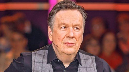 Jörg Kachelmann moderiert Riverboat im MDR.