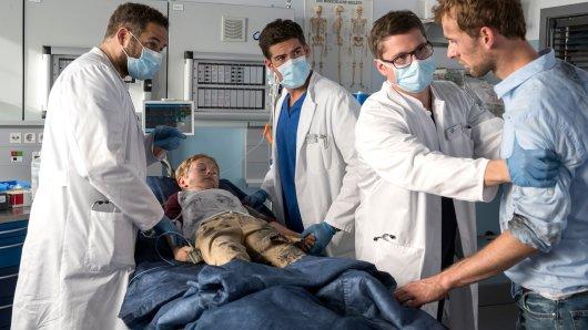 """Bei """"In aller Freundschaft – die jungen Ärzte"""" hat die ARD sich etwas Neues einfallen lassen."""