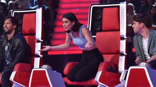 """Lena Meyer-Landrut ist bei """"The Voice Kids"""" sauer, als Michelle fertig mit Singen ist."""