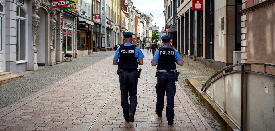 Die Polizei freut sich über die Vernunft der Thüringer. Doch Ausnahmen gab es ... (Symbolbild)