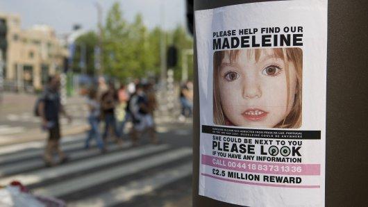 Mit diesen Bildern suchten die Eltern damals nach ihrer Maddie McCann.