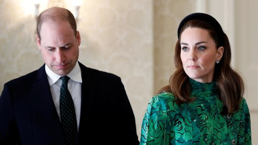 Kate Middleton und Prinz William.