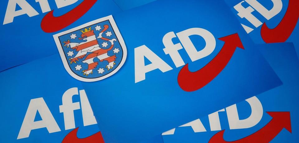Thüringen droht nach der Entscheidung in Gera das nächste Polit-Beben. (Symbolbild)