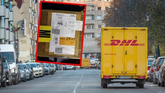 Einen Paket-Krimi erlebte ein Kunde mit der DHL.